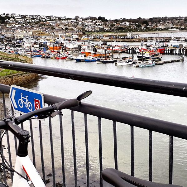 Newlyn cycle route 3
