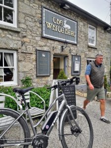 Cycling Cornwall White Hart