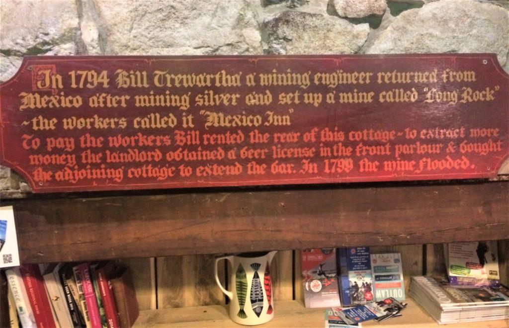 Mexico Inn plaque