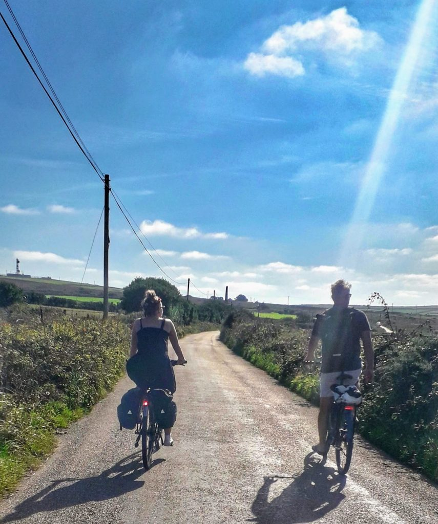 Cycling Cornish Lanes